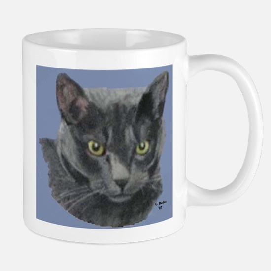 American Shorthair Gray Cat Mug