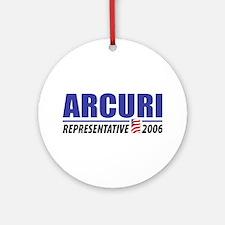 Arcuri 2006 Ornament (Round)