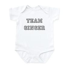 TEAM GINGER T-SHIRTS Infant Creeper