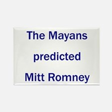 Mayans Predicted Romney Rectangle Magnet