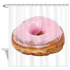 Doughnut pink frosted Shower Curtain