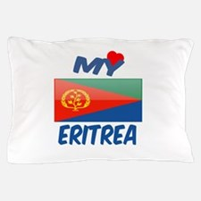 My Love Eritrea Pillow Case