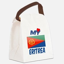 My Love Eritrea Canvas Lunch Bag
