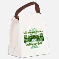 Funny Nick Canvas Lunch Bag