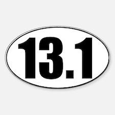 Classic Half Marathon 13.1 Decal