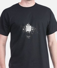 Graffiti Spray Paint Splatter Can T-Shirt