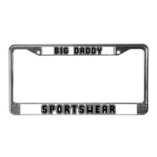 Cute Big brother toddler world License Plate Frame