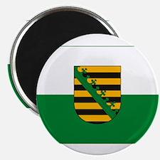 """Saxony Flag, Sachsen Flag 2.25"""" Magnet (10 pack)"""