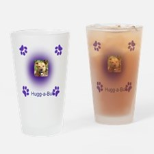 hugg-a-bull purple Drinking Glass