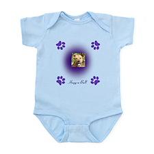 hugg-a-bull purple Infant Bodysuit