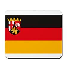 Rheinland Pfalz Flag Mousepad