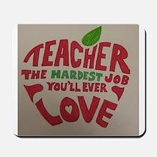 Teacher Love Mousepad
