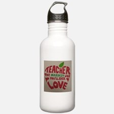 Teacher Love Water Bottle