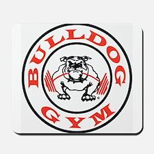 Bulldog Gym Logo Mousepad