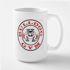 Bulldog Gym Logo Large Mug