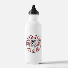 Bulldog Gym Logo Water Bottle