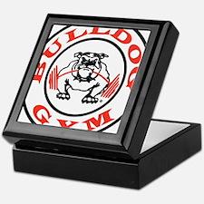 Bulldog Gym Logo Keepsake Box