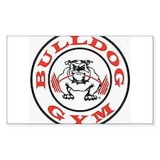 Bulldog Gym Logo Decal