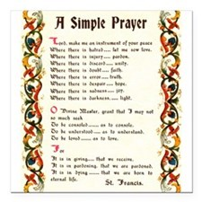 A Simple Prayer by Saint Francis of Assisi Square