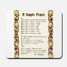 A Simple Prayer by Saint Francis of Assisi Mousepa