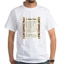 A Simple Prayer by Saint Francis of Assisi Shirt