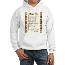 A Simple Prayer by Saint Francis of Assisi Hoodie