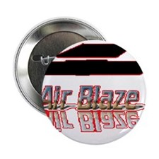 "Air Blaze Logo (outlined in red) 2.25"" Button"