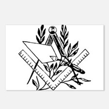 Masonic Tools Postcards (Package of 8)