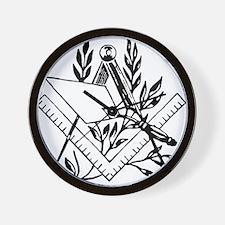 Masonic Tools Wall Clock