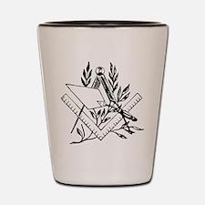 Masonic Tools Shot Glass