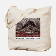 Lhasa Apso Pop Art Blitz Tote Bag