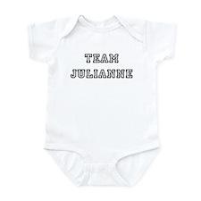 TEAM JULIANNE T-SHIRTS Infant Creeper
