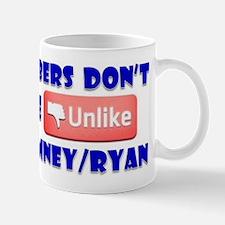 Numbers Don't Lie Unlike Romney/Obama Mug