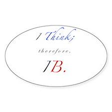 IB Oval Decal