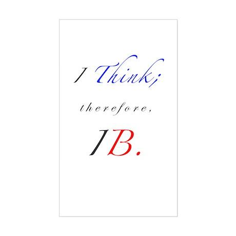 IB Rectangle Sticker