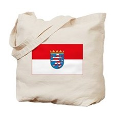 Hessian Flag Tote Bag