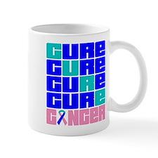 CURE Thyroid Cancer Collage Mug