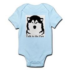Talk to the Paw Infant Bodysuit