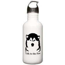 Talk to the Paw Water Bottle