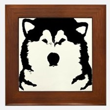 Talk to the Paw Framed Tile
