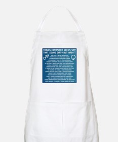 Dirty Computers Apron