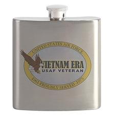 Vietnam Era Vet USAF Flask