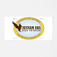 Vietnam Era Vet USAF Aluminum License Plate