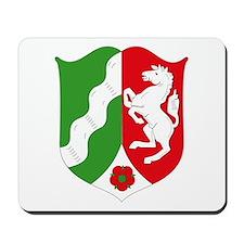 Nordrhein Westfalen Coat of A Mousepad