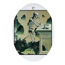 Masonic Skull No. 2 Oval Ornament