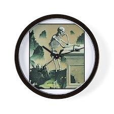 Masonic Skull No. 2 Wall Clock