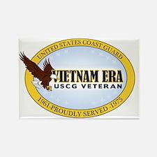 Vietnam Era Vet USCG Rectangle Magnet
