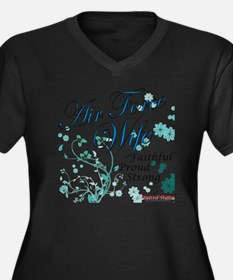 Air Force Wife Plus Size T-Shirt