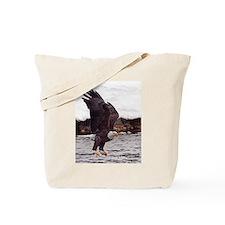Magnificent Bald Eagle Tote Bag