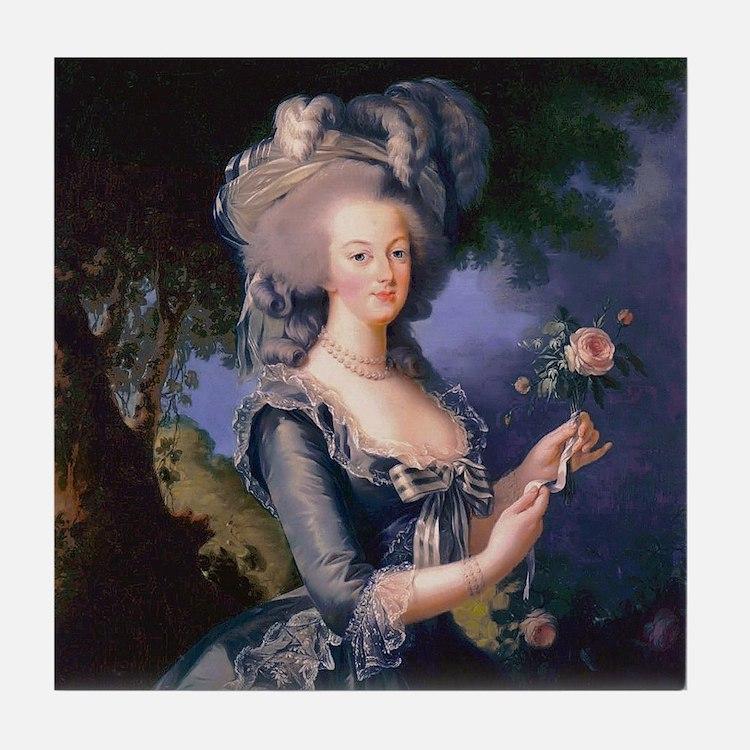 Louise Elisabeth Marie Antoinette Tile Coaster
